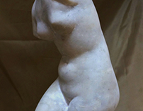 A Copy of the Antique Venus Torso
