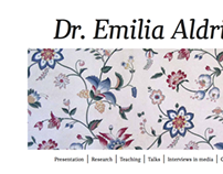 Website: Dr. Emilia Aldrin (2012)