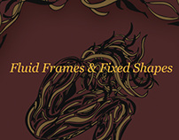 Fluid Frames & Fixed Shapes - Surrealism Poster