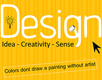 Design    idea .. creativity .. sense