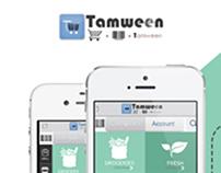 "Tamween App "" Mobile App Design"""