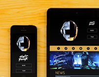 Daft Punk Website