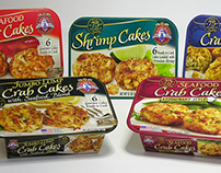 Southern Belle USA - Seafood Cakes Sleeves
