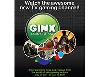 GINX Magazine Ad