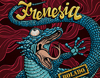 CD Cover - Frenesia