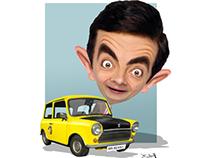 مستر بن mr bean كاريكاتير cartoon