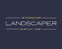Landscaper Font