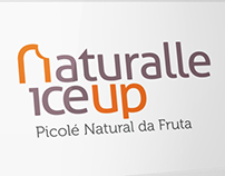 Packaging and brand popsicle Naturalle IceUp