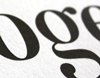Imogen Typeface & Specimen