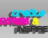 Create, Express, & Inspire Wallpaper