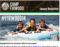 Camp Firwood - Email Marketing