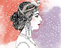 Mata Hari Illustration