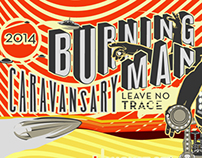 Burning Man: Caravansary 2014 Ticket (unofficial)