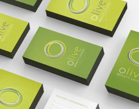 Olive Beauty Lounge | Corporate Identity Design