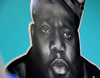 "Notorious B.I.G. for ""So Hood"" Store"