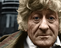 """Colorization, """"Jon Pertwee The 3rd Doctor"""""""