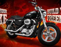 Harley-Davidson » Bike Builder