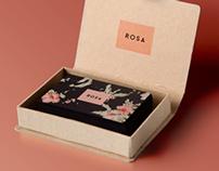 Rosa | Logo e identidade visual