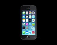 3d model demo - apple iphone 5s