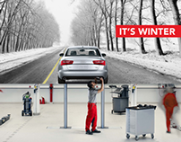 Kingston Volkswagen & Audi: It's Winter Campaign