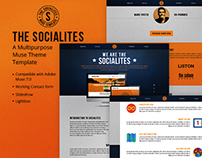 The Socialites - A One Page Muse Theme