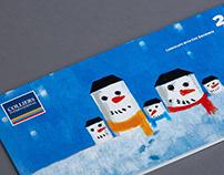 Новогодняя открытка для Colliers International