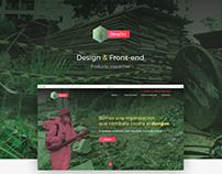 Dengout - landing page -
