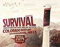 Survival Flyer / Outdoor, Hiking, Trekking