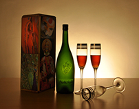 Shubh Ratri - Wine Packaging