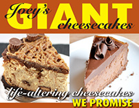 Joey's cheesecakes
