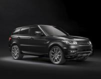 Range Rover Black CGI