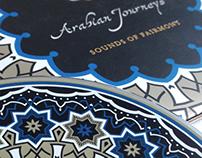 Arabian Journeys Music CD Packaging