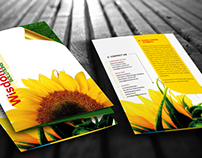 Wisdom tree Company Brochure - Trifold