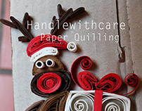 My quilling Christmas