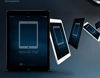 Apple iPad Air Mockup Set