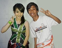 Photo Manipulation: Me with Nabilah JKT48