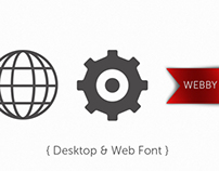 Webby Desktop & Webfont