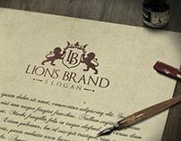 Lions Brand Logo Template