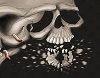 Bicephalous Skull
