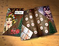 Royal Derm Yılbaşı Broşür ve xBanner Tasarımı