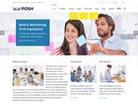 Posh Multi-Purpose WordPress Theme