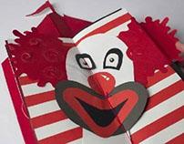 Circus Papercraft Book
