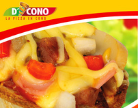 Restaurante D'cono Pizza Costa Rica
