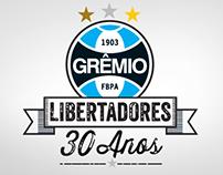 Grêmio 30 Anos Libertadores