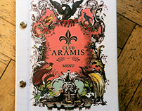 Cafe-Bar ARAMIS - menu and brochure