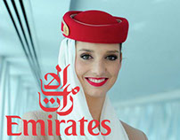 Emirates India web design concept