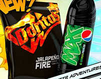 Doritos and Pepsi