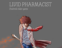 (Livid pharmacist ) Video-game concept art