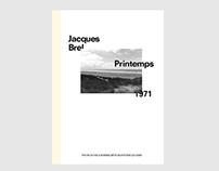 Jacques Brel—Printemps 1971