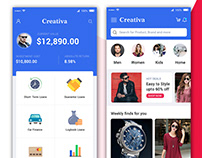 PSD Name:Flipkart Redesign Concept Mobile Screens ui ps